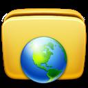 Folder, , Network icon
