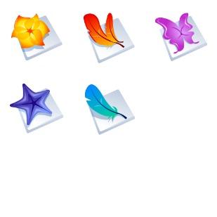 Adobe CS2 icon sets preview