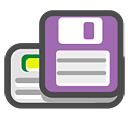 save, driver, floppy icon