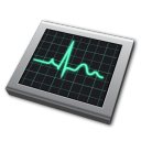 monitor, screen, display, computer, activity icon