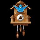 twitter cuckoo clock icon
