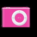 shuffle, rose, ipod icon