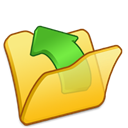 Folder, Parent, Yellow icon