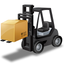 ForkliftTruck Loaded icon
