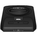 black, sega, genesis icon