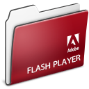 Adobe, Flash, Folder, Player icon