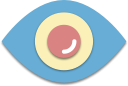 look, search, watch, eye icon
