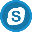social, chat, communication, ineraction, skype icon