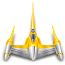 starfighter, naboo, star wars icon