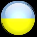 country, ukraine, flag icon