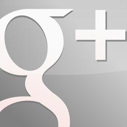 gloss, grey, googleplus icon