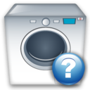 Help, Machine, Washing icon