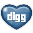 digg, social, media icon