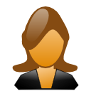 human, female, user, account, person, woman, profile, people, member icon