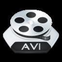Media video avi icon