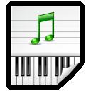 Audio, Midi icon