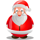 santa, claus, christmas, xmas icon