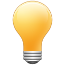 light, bulb, idea, tip, energy, hint icon