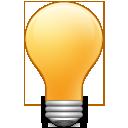 tip,bulb,idea icon