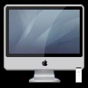 iMac Al Graphite PNG icon