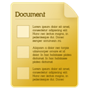 Document, icon