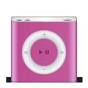 pink, ipod, festival, apple, nano icon