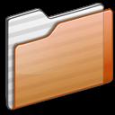Folder orange icon