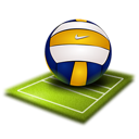 volleyball, sport icon