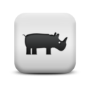 animal,hippo icon