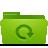 backup, green, folder icon