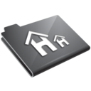 house,grey,home icon