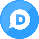 disqus, website, comment icon