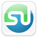 stumbleupon,badge,social icon