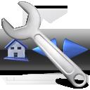 Configure, Toolbars icon