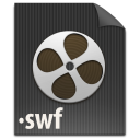file, paper, document, swf icon