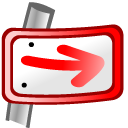 next,forward,right icon