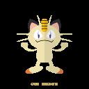 meowth, normal, kanto, pokemon icon