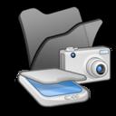 folder,black,scanner icon