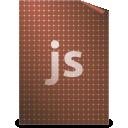 text, javascript icon