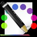 theme, colors, mime icon