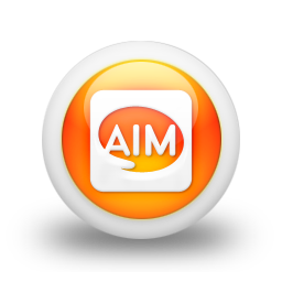 square, logo, aim icon