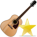 guitar,fav,instrument icon