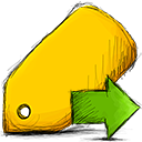 Move, Tag icon
