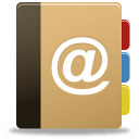 contacts, mail, addressbook, contact us icon