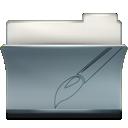 Folder, Paint, Ps icon