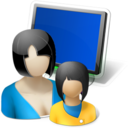 monitor,group icon