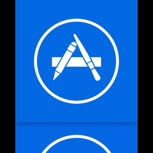 mirror, store, app icon