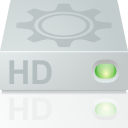 hard disk, mount, hdd, hard drive icon
