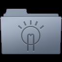 Folder, Graphite, Idea icon