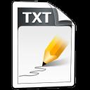 txt, oficina icon